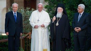 Thế giới nhìn từ Vatican 06/06 - 12/06/2014 - Lễ Chúa Thánh Thần -  Cầu cho hòa bình ở Trung Đông