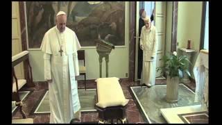 Đức Giáo Hoàng Phanxicô gặp gỡ Đức Thánh Cha  Bênêđíctô XVI