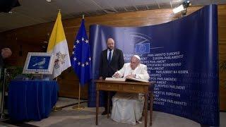 Thế giới nhìn từ Vatican 21/11 - 27/11/2014 : ĐTC nói chuyện tại Nghị viện và Hội đồng Châu Âu