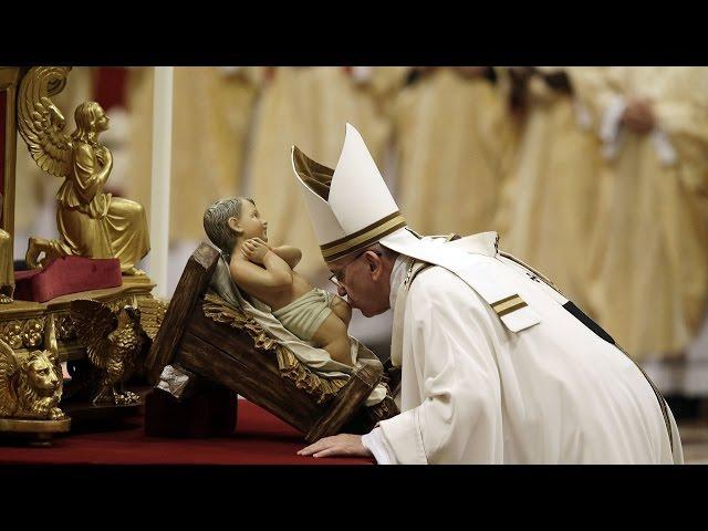 Thánh Lễ Đêm Vọng Giáng Sinh 24/12/2016 tại Vatican